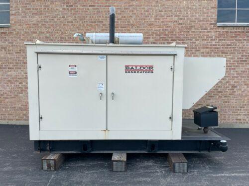 2012 Baldor 30KW Diesel Industrial Generator IDLC30-3JU - Clean