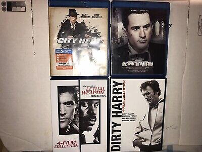 The Complete Lethal Weapon Collection (DVD) Dirty Harry 4 Film Collection (DVD)
