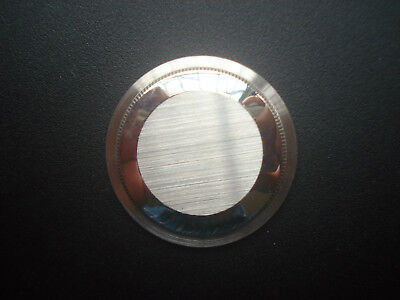 1 PC UNBRADED STEEL CASE BACK FOR VINTAGE 36MM ROLEX DATEJUST OR EXPLORER WATCH