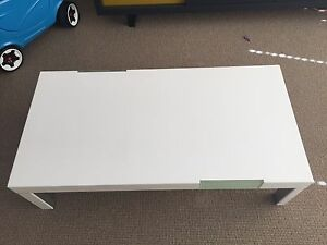 Brand New Beyond furniture high gloss white coffee table Chatswood Willoughby Area Preview
