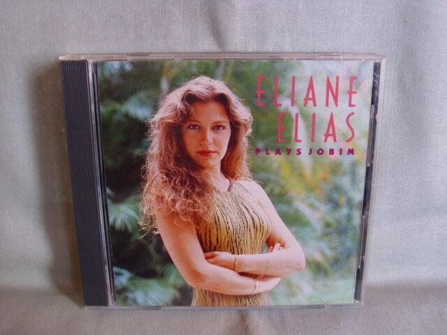Eliane Elias plays Jobim- BLUE NOTE 1990- Printed in Canada NEU