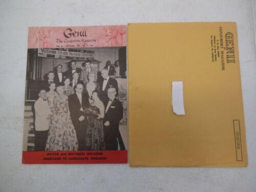 GENII THE CONJURORS MAGAZINE NOVEMBER 1961 HARROGATE ENGLAND MAGIC WITH MAILER