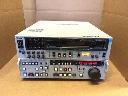 SONY BVW-75 BETACAM SP Video editing deck videocassette recorder