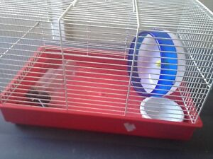 Hamster cage for sale with accessories
