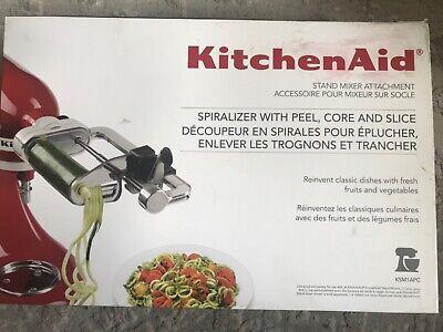 KitchenAid Spiralizer PLUS Stand Mixer Attachment Peel, Core, Slice Complete NIB