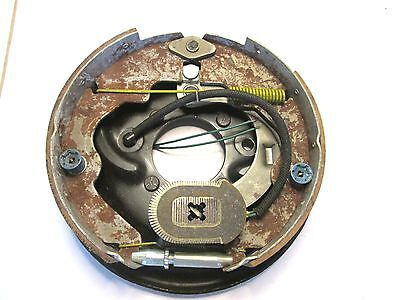 """5710 HA HAYES 10"""" x 2"""" 1/4 ELECTRIC TRAILER BRAKE  ASSEMBLY RIGHT SIDE ORIGINAL"""