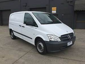 2012 Mercedes-Benz Vito Van 110CDI BlueEfficiency West Footscray Maribyrnong Area Preview