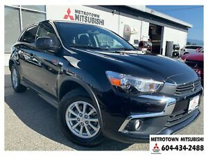 2017 Mitsubishi RVR SE 4WD; Local BC vehicle! CERTIFIED!