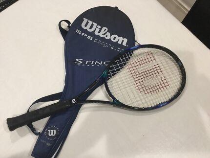 Wilson Tennis Raquet Riverton Canning Area Preview