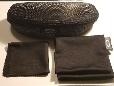 BRAND NEW SUNGLASSES CASE For Oakley with DUST BAG and cleaning (Oakley Sunglass Bag)