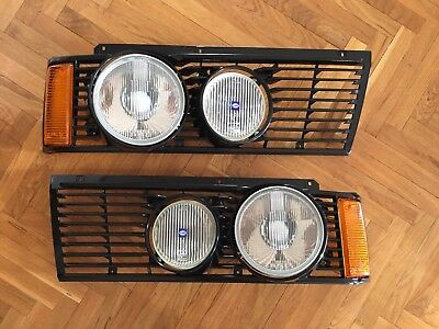 BMW E21 NOS Hella big small headlights genuine EURO kit grilles RARE 320iS 323i for sale  Shipping to Canada