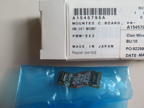 Sony PMW-EX3 EX3 Replacement Part Mounted C. Board, HN 347 A1545795A