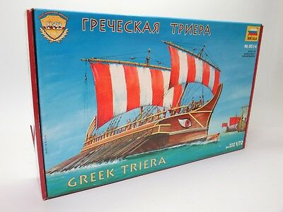 ZVEZDA 8514 Greek Triera / Griechische Triere / Modellbausatz 1:72