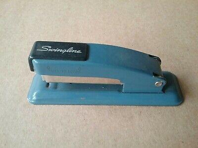 Vintage Swingline Small Size Blue Stapler - Swingline Inc. Long Island City1 Ny