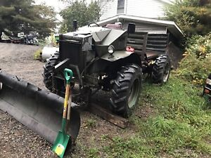 Army Truck with Plow
