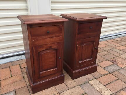 Lovely Pair of Bedside Cupboards  Bracken Ridge Brisbane North East Preview