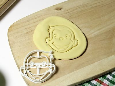Curious George Cookie Cutter Cupcake topper Fondant Gingerbread Party (Curious George Cupcakes)