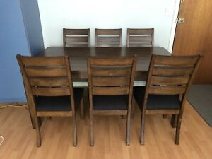 Dining table chairs (Good Condition)