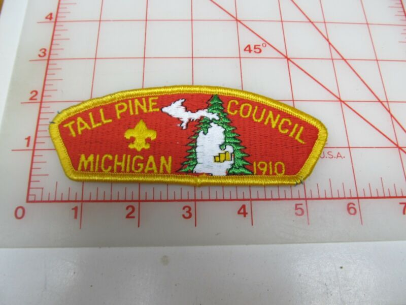 Tall Pine Council CSP collectible PB patch (o34)