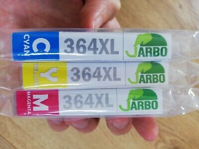 JARBO C/M/Y Compatible HP 364XL Ink Cartridges High Capacity Compatible with HP