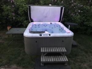 Lay z boy hot tub.