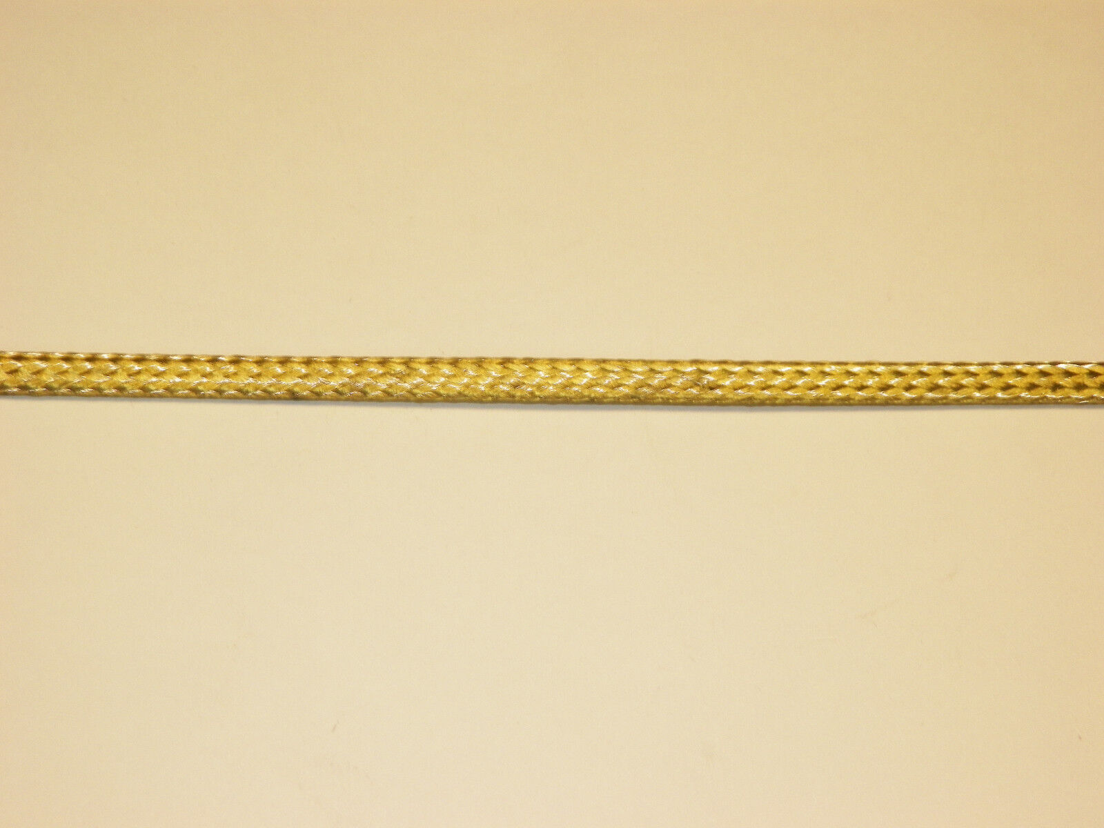 Braided Brass Expandable Flex Sleeve Wiring Harness Loom Flexable Sleeves 3 Of 8 Wire Cover