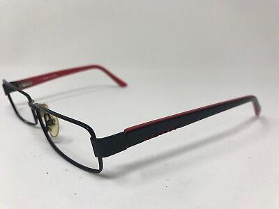 Sting De Rigo Eyeglasses VS4726 52-15-135 Matte Black MISSING RIM SCREW GB99