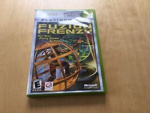 FUZION FRENZY / good condition / Xbox game / few minutes used