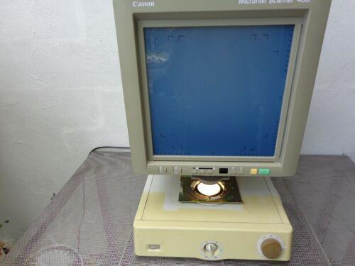 CANON MICROFILM SCANNER 400 MICROFICHE M31019