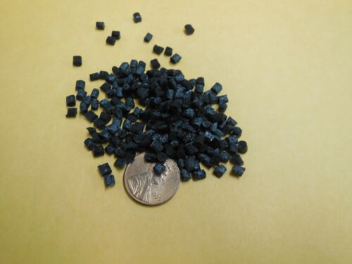 PC Polycarbonate 20% GF Plastic Pellets Resin Material 10 Lbs Black