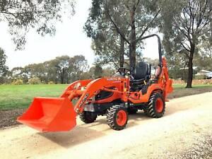 Kubota BX25D Tractor / Backhoe West Bendigo Bendigo City Preview