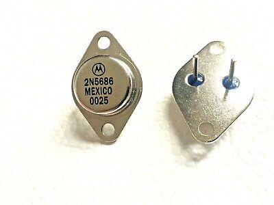 2n5686 Motorola Npn Power Amp Transistors 300w