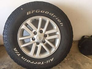 4  Toyota Hilux tyres and rims Bringelly Camden Area Preview