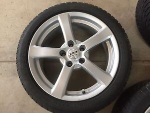 For Sale: Cadillac ATS winter wheels run flat tires & sensors Peterborough Peterborough Area image 1