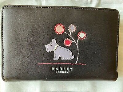 Radley Ladies Leather Zip Purse / Wallet, With Dust Bag, New and Unused