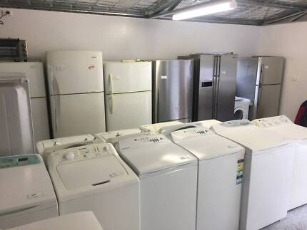 Fully reconditioned, quality washers and dryers 6 mths warranty