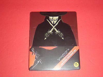 V for Vendetta Extremely Limited to 300 copies Blu-Ray Steelbook from Korea (V Vendetta Steelbook)