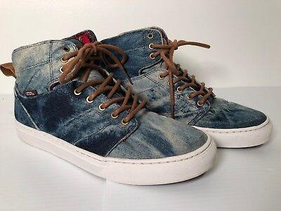 05c93e8b09 VANS OTW Collection Alomar TB4R Denim Textile Mens Size 8.5 Skate Shoe