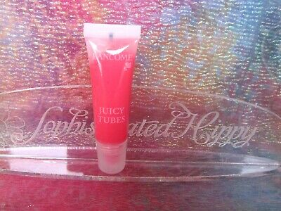 NEW Lancome Juicy Tubes Ultra Shiny Lip Gloss in Moulin Rouge .33oz Juicy Rouge Lip Color
