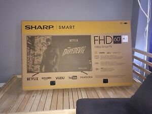 60 inch Sharp tv smart