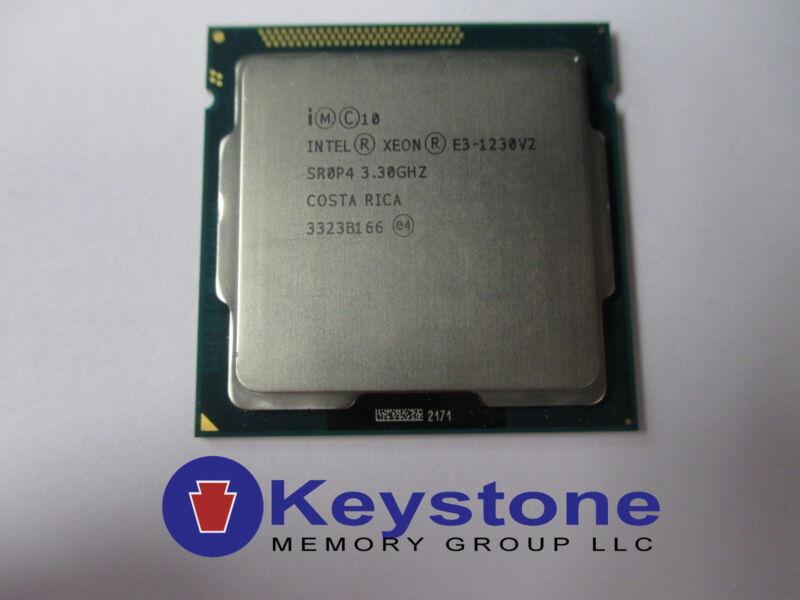 Intel Xeon E3-1230 v2 SR0P4 3.3GHz Quad Core LGA 1155 CPU Processor *km