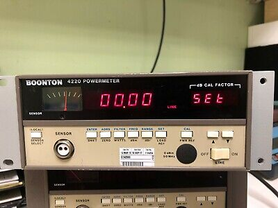 Boonton 4220 Rf Power Meter With Options 01 02 W032