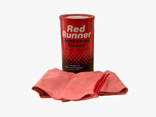 Red Runner Dampening Sleeves D-38 Pack Of 6 Dampening Cover for Offset Rollers