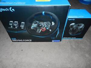 Logitech G29 Driving Force Wheel for PS3/PS4/PC + Shifter (New) Floraville Lake Macquarie Area Preview