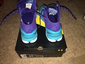 Men's Under Armour Curry 2 Pacific Violet Basketball shoes
