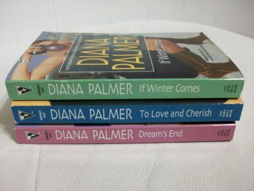 3 Diana Palmer books-Dream