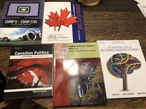 Textbooks from DC GAS Transfer to UOIT Forensic Psych