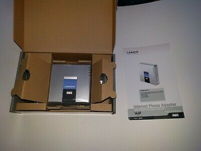 Linksys PAP2T PAP2T-NA  VOIP ATA Adapter Asterix/Freepbx VOI