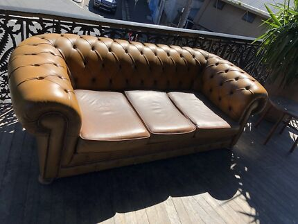 2 x Chesterfield Sofas-used