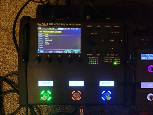 Fractal Audio FM3 Amp Modeler FX Processor